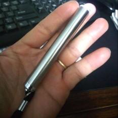 Hình ảnh Đèn pin mini bỏ túi thân inox 1 pin AAA siêu sáng
