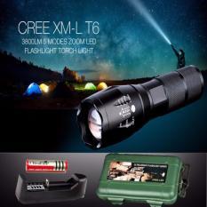 Hình ảnh Đèn pin police T6 siêu sáng kèm ( sạc và pin sạc), giá rẻ nhất - BH 1 ĐỔI 1
