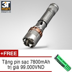 Giá Bán Đen Pin Sieu Sang C Mon Defend Xml T6 Led 10W 2000Lm Chiếu Xa 500M Tặng 1 Pin Sạc Li Ion 18650 Nguyên C Mon Power