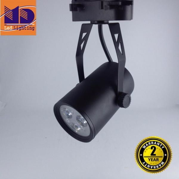 Đèn rọi ray vỏ đen ánh sáng trắng 3W - MD61