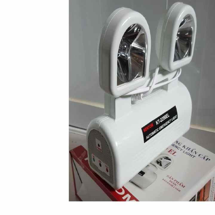 Đèn sạc chiếu sáng khẩn cấp Kentom KT2200EL