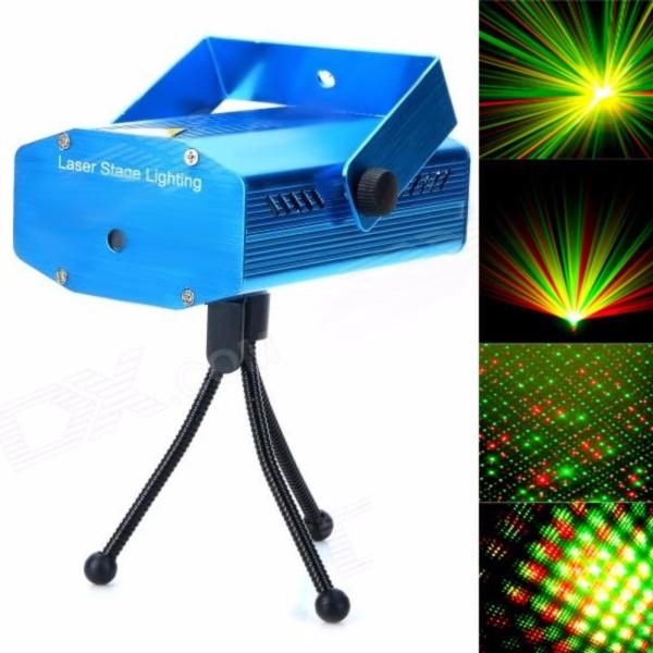Đèn sân khấu mini Laser Stage Light (có chân đế)