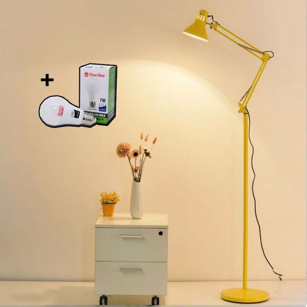 Bảng giá Đèn sàn - đèn đứng - đèn cây - đèn trang trí nội thất cao cấp chóa cổ điển thoát nhiệt LYN - Tặng kèm bóng LED chống lóa