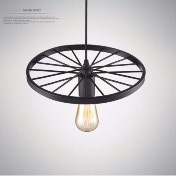 Đèn Thả Trần 1 Bóng Kiểu Bánh Xe LL-5345  - Chưa Bao Gồm Bóng