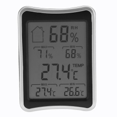 Kỹ thuật số Không Dây Trong Nhà Nhiệt Kế Ẩm Kế Độ Ẩm Máy có MÀN HÌNH LCD - quốc tế