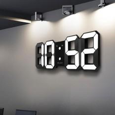 Bán Digoo Led Đồng Hồ Đồng Hồ Bao Thức Kỹ Thuật Số 3D Trắng Bao Lại Hiển Thị 12 24 Giờ Usb Quốc Tế Trực Tuyến Hong Kong Sar China