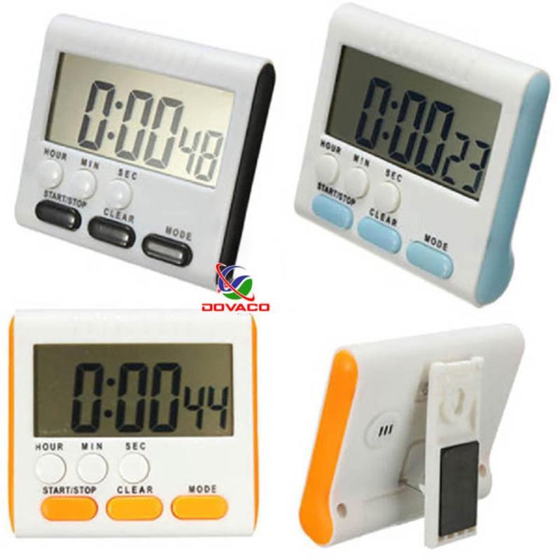 Đồng hồ bấm giờ đếm ngược điện tử mini V3 âm báo to, pin đũa bán chạy