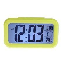 Nơi bán Đồng hồ báo thức kỹ thuật số với đèn LED nền cảm biến đa chức năng LC01 (Xanh lá) 1000000194