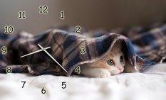 Đồng hồ DB140703 Chú mèo lười