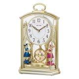 Mã Khuyến Mại Đồng Hồ Để Ban Rhythm 4Rp796Ws18 Contemporary Motion Clocks Vang Rhythm
