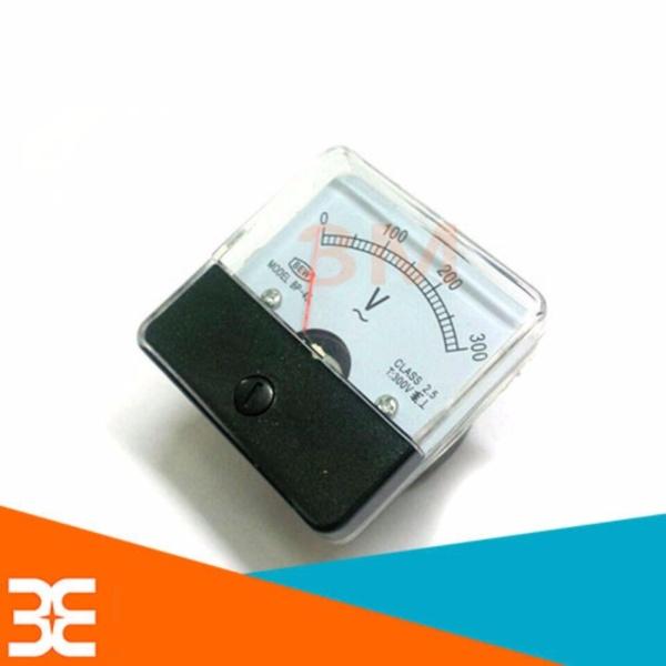[Tp.HCM] Đồng Hồ Đo Điện Áp Xoay Chiều BEW 0-300V 5x5x3.5cm