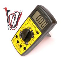 Đồng hồ đo điện - điện tử dành cho kỹ thuật EXCEL DT9205B (Đen phối vàng)
