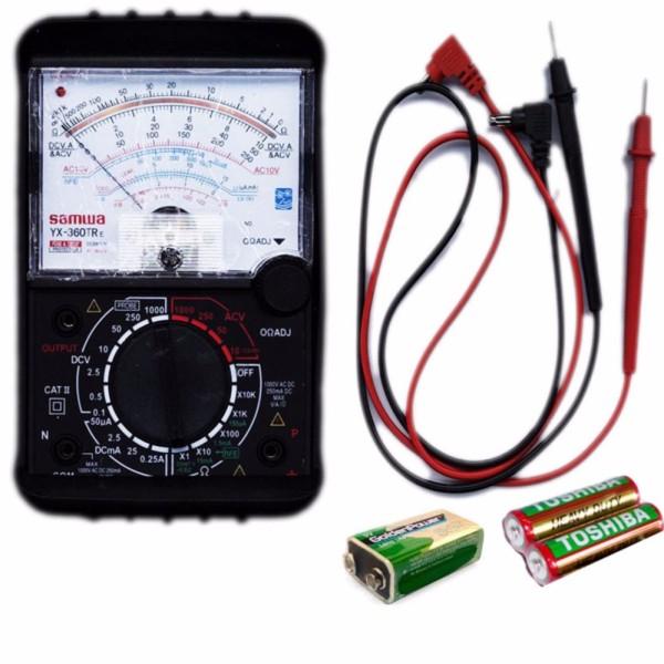 Đồng hồ đo kim vạn năng Samwa YX-360TRE loại tốt Kèm Pin