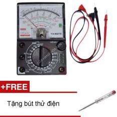 Đồng hồ đo kim vạn năng Samwa YX-960TR Tặng Bút thử điện HIKI