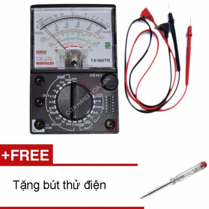 [Có Hình Thật] Đồng Hồ Đo Kim Vạn Năng Samwa Yx-960Tr - Bảo Hành 1 Tháng + Tặng Bút Thử Điện Hiki