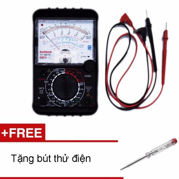 Đồng hồ đo kim vạn năng VOM Samwa YX-360TRe  + Tặng bút thử điện