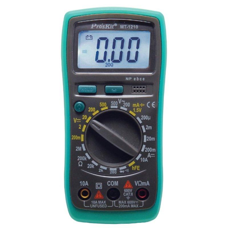 Đồng hồ đo Proskit MT-1210 (Xanh phối đen)