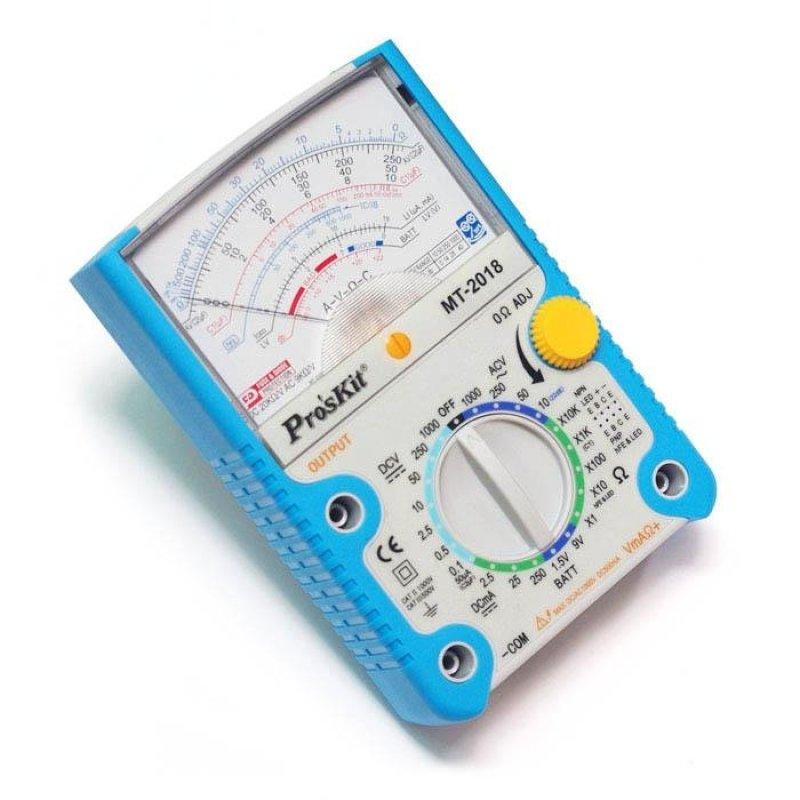 Đồng hồ đo Proskit MT-2018 + tặng kèm dao rọc giấy PD-513