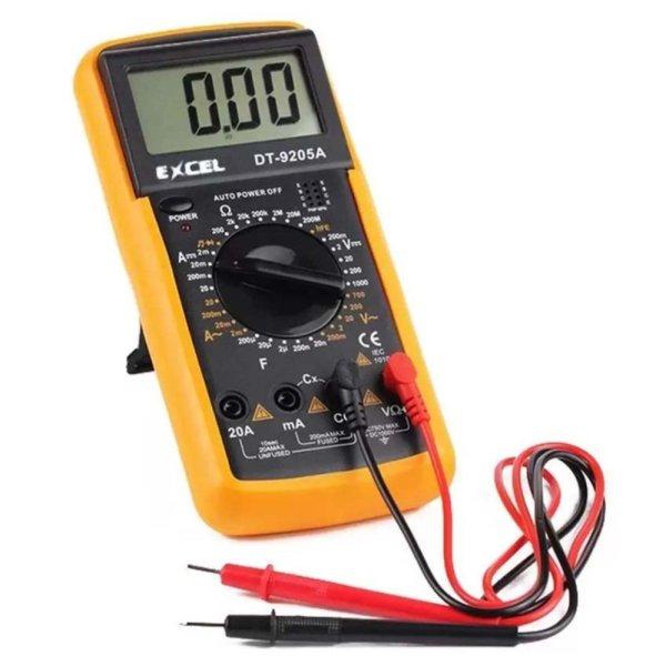 Đồng hồ đo vạn năng Excel DT-9205A(Đen phối vàng)