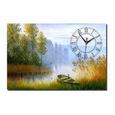 Đồng hồ tranh 1T4060-34 Phong cảnh