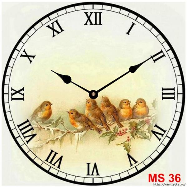 Đồng hồ treo tường phong cách cổ MS 36 bán chạy