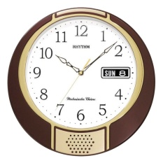 Đồng hồ treo tường Rhythm 4FH626WR06 Value Added Wall Clocks (Nâu) bán chạy