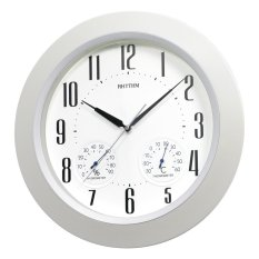 Đồng hồ treo tường Rhythm CFG712NR03 Value Added Wall Clocks (Trắng) bán chạy