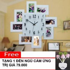 Đồng Hồ Treo Tường Trang Tri M1215C Mau Trắng Mới Nhất