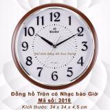 Mua Đồng Hồ Treo Tường Tron Co Nhạc Bao Giờ Vietnam