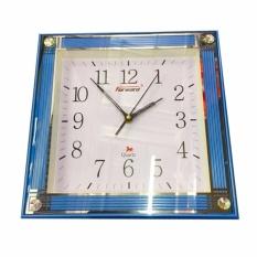 Nơi bán Đồng hồ treo tường vuông Forward 30cm (Xanh dương)