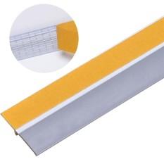 Hình ảnh Door Weather Stripping 3.3ft Self Adhesive Wind Dust Water Proof Door Sweep Door Bottom Seal - intl