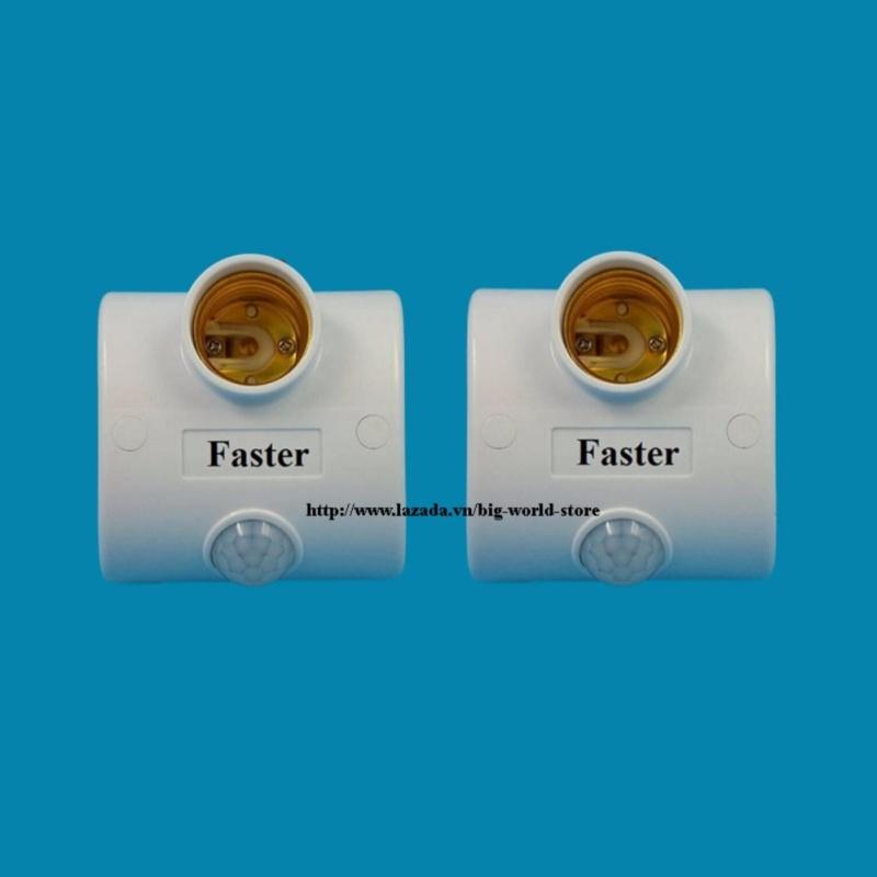Bảng giá Đui đèn cảm ứng mắt thần Faster 2 chiếc (Trắng)