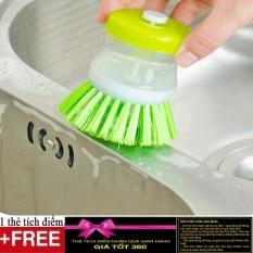 Hình ảnh Dụng cụ cọ rửa nhà bếp đa năng + Tặng kèm 1 thẻ tích điểm Giá tốt 360