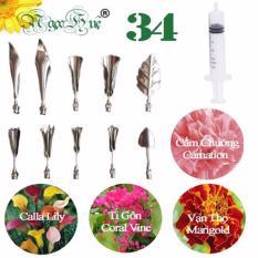 Giá Bán Dụng Cụ Lam Rau Cau 3D Ngọc Huệ 12 Mon Inox 304 Chinh Hang Bộ 34 Rẻ Nhất