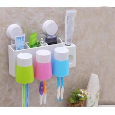 Mua Dụng Cụ Lấy Kem Đanh Răng Tự Động Co 3 Cốc Nhựa Đi Kem