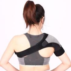 Easy Adjustable Gym Sports Single Shoulder Brace Support Strap Pad Light Weight - intl