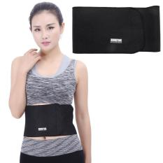 Elastic Sports Thermal Waist Support Guard, Size: 17 X 95cm(Black) - intl