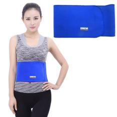 Elastic Sports Thermal Waist Support Guard, Size: 17 X 95cm(Blue) - intl