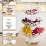 Esogoal Fruit Plate 3 Tier Hollow Plate For Fruits Cakes Desserts Candy Buffet Stand For Home Party Intl Esogoal Rẻ Trong Trung Quốc