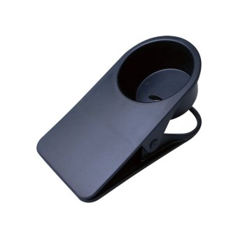 Giá ưu đãi Fashion Coffee Glass Drinks Cup Holder Stand Clips For Desk Table Black - intl so sánh