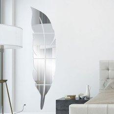 Hình ảnh Lông vũ đầm gương bài hiên nhà trang trí vệ sinh 3 d acrylic gương dán-quốc tế