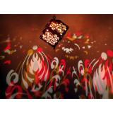 Flame Damask LED
