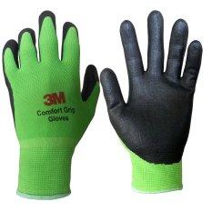 Găng tay bảo vệ 3M Comfort Grip Gloves size M (Xanh lá)