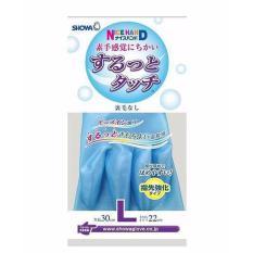 Hình ảnh Găng tay biết thở SHOWA size L (Xanh) hàng nhập khẩu Nhật Bản