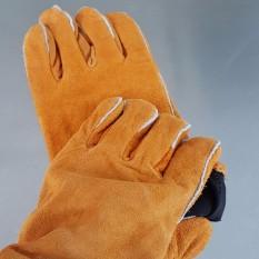 Găng tay chịu nhiệt - Găng tay da bò thợ hàn loại tốt