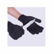Hình ảnh Găng tay chống dao, găng tay chống cắt, găng tay chống mài mòn (Đen)
