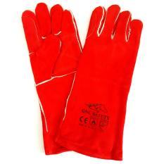 Hình ảnh Găng tay da thợ hàn GNC màu đỏ(Red)