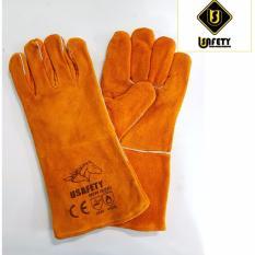 Hình ảnh Găng tay da thợ hàn Usafety
