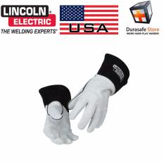 Găng tay Kỹ Sư Hàn Lincoln K2981 TIG Leather Welding Glove Size XL (Da Dê Chống Cháy, Chịu Nhiệt Bền)