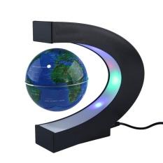 Hình ảnh Gaoshang C Hình Trang Trí Có Đèn LED Địa Cầu Nam Châm Bản Đồ Thế Giới Quả Cầu Trọng Lực Giáo Dục Quà Tặng Giáng Sinh Văn Phòng Nhà trang Trí bàn làm việc-quốc tế